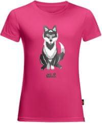 Jack Wolfskin dívčí tričko WOLF T KIDS