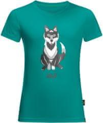Jack Wolfskin dětské tričko WOLF T KIDS