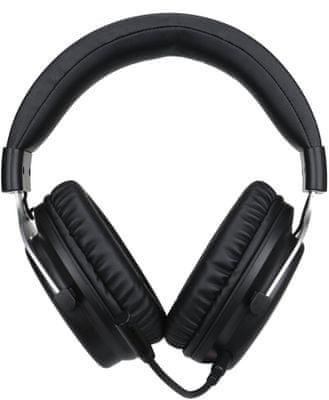 Marvo HG9052, černá (HG9052) sluchátka prostorový zvuk 7.1 50mm měniče drátová