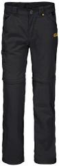Jack Wolfskin Spodnie dziecięce SAFARI ZIP OFF PANTS K