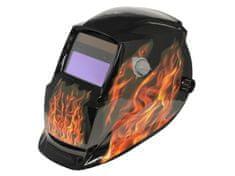 Asist Svářečská ochranná maska - dekor plameny