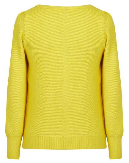 NAFNAF dámský svetr MENU24 S žlutá