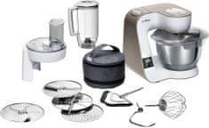 Bosch kuhinjski robot, MUM5 scale, 1000 W, bela, MUM5XW20