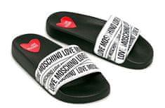 Love Moschino Dámské pantofle Bianco JA28032G1A IA0