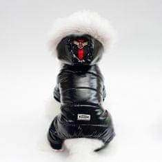 Poochin Zimní kombinéza pro psa - Černá XL