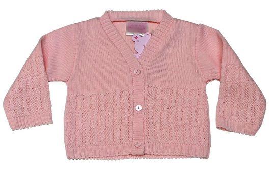Just Too Cute dívčí svetr 80 růžová