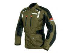 Cappa Racing Bunda moto pánská JEREZ textilní zelená/černá