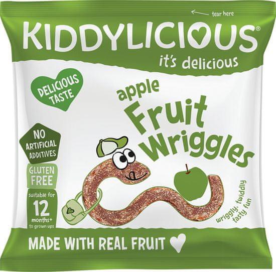 Kiddylicious žížalky jablečné 9 x12g