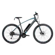 Leader Fox Arimo MTB 29 električno kolo, modro-črno, 19,5