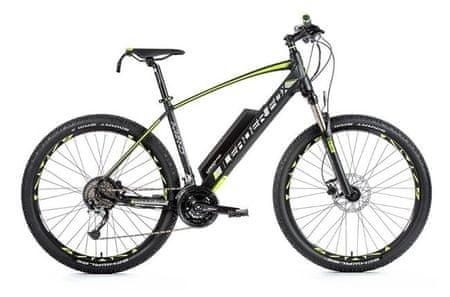 Leader Fox Arimo MTB 29 električno kolo, zeleno-črno, 19,5