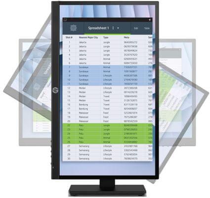 HPP22h G4 (7UZ36AA) HDMI VGA DP wide viewing angles