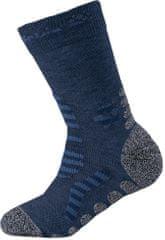 Jack Wolfskin chlapčenské ponožky KIDS HIKING STRIPE CLASSIC CUT
