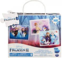 Spin Master Frozen 2 slagalica 3D, 3x 48 dijelova