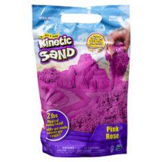 Kinetic Sand Balení růžového písku 0,9 kg
