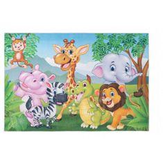 Jutex Detský koberec Torino Kids jungle