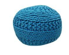 Kudos Textiles MEGA AKCE: Sedací vak TEA POUF 8 tyrkysový