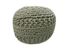 Kudos Textiles MEGA AKCE: Sedací vak TEA POUF 35 šedý