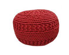 Kudos Textiles MEGA AKCE: Sedací vak TEA POUF 9 červený
