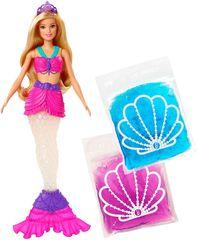 Mattel Sellő Barbie és csillogó slime
