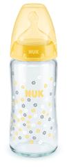 Nuk FC+ láhev sklo 240ml, S, V1-M