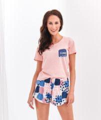 TARO Krátké dámské pyžamo 2288 NESSA S-XL