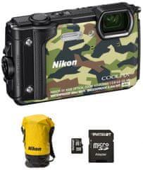 Nikon fotoaparat Coolpix W300 + SD32GB + nahrbtnik