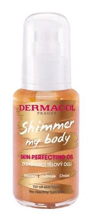 Dermacol Upiększający olejek do ciała Shimmer My Body (Skin Perfecting Oil) 50 ml