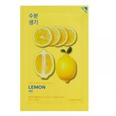 Holika Holika Tonująca maska płócienna Lemon ( Essence Mask Sheet) Pure ( Essence Mask Sheet) 20 ml