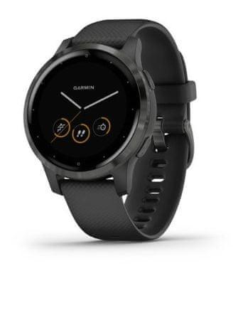 Garmin Vivoactive 4S pametna ura, črna