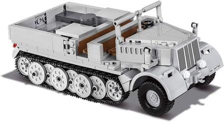Cobi 2522 Small Army II WW Sd. Kfz. 9 Famo težko vojaško vlečno vozilo