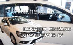 Team Heko Okenné deflektory Renault Megane IV 5D GRANDTOUR 2016-vyššie 4 ks predne+zadne