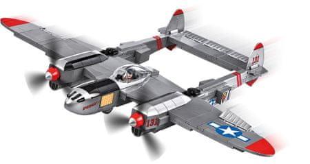 Cobi 5539 Small Army II WW Lockheed P-38 Lightning