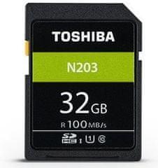 TOSHIBA SDHC 32GB N203 UHS-I, U1, 100MB/s, Class 10 (THN-N203N0320E4)