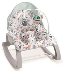 Fisher-Price Fotelik niemowlęcy Terrazzo z baldachimem