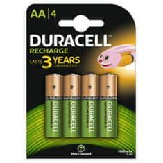 Duracell polnilna baterija 1300 mAh, AA, 4 kosi