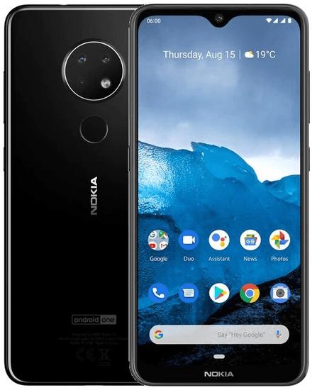 Nokia 6.2, 4GB/64GB, Black