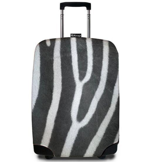 REAbags Obal na kufor 9015 Zebra