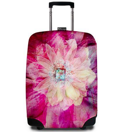 REAbags futerał na walizkę 9043 Bohemian Rose