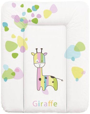 Ceba Baby Přebalovací podložka na komodu měkká 50 x 70 cm - Žirafa