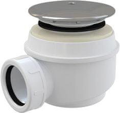 Alca Plast Sifon sprch 60 chrom krytka, 45l/min, Alca Plast, i pro keramické vaničky A47CR-60 (A47CR-60)