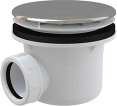 Alca Plast Sifon sprch 90 chrom A49CR ALCAPLAST Plast (chrom / plastové víčko) A49CR (A49CR)