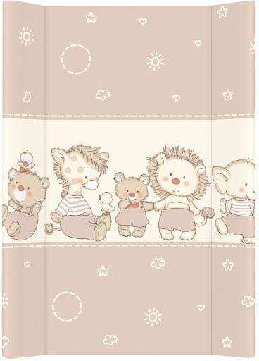 Ceba Baby Přebalovací podložka měkká 70 cm profilovaná -Kachničky