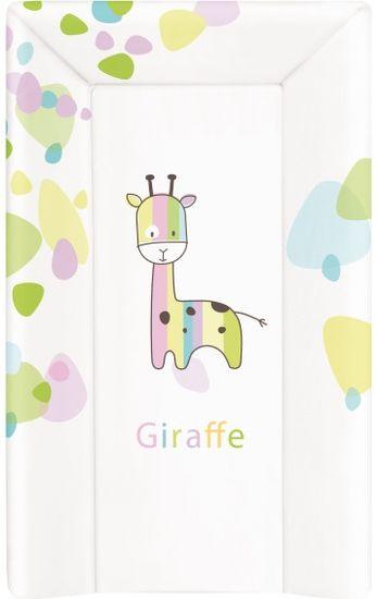 Ceba Baby Přebalovací podložka měkká 80 cm trojhranná - Žirafa