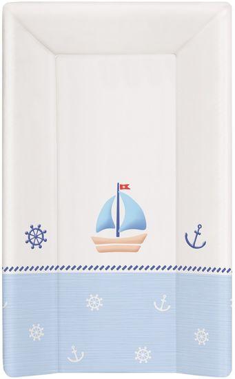 Ceba Baby Přebalovací podložka měkká 80 cm trojhranná - Námořník