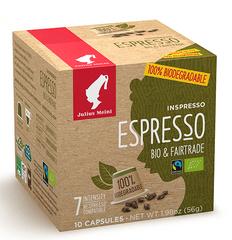 Julius Meinl Kompostovatelné kapsle Inspresso Bio & Fairtrade 10 ks