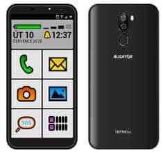 Aligator S5710 Senior, 2GB/16GB, černý - zánovní