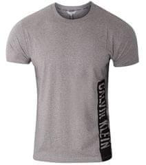 Calvin Klein Pánske tričko Relaxed Crew Tee KM0KM00481 -P6S Grey Heather