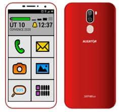 Aligator S5710 Senior, 2GB/16GB, czerwony