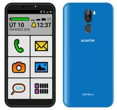 Aligator S5710 Senior, 2GB/16GB, modrý - zánovní