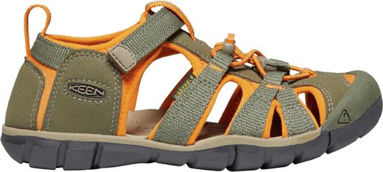 KEEN detské sandále Seacamp II CNX K 1022983 24 zelená